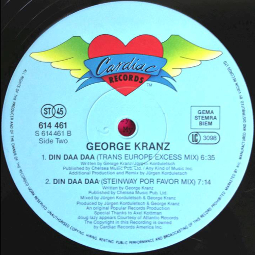 georgekranz din daa daa 1991 single